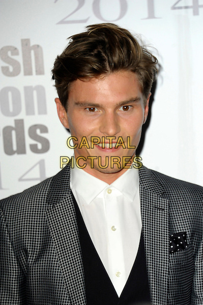Oliver Cheshire attends The Scottish Fashion Awards held at 8  Northumberland Avenue, on September 1, 2014 in London, England. <br /> CAP/CJ<br /> &copy;Chris Joseph/Capital Pictures