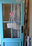 Saint Michaels Maryland Welcome door, Delighted you are here, blue door, baby blue door, Fine Art Photography by Ron Bennett, Fine Art, Fine Art photography, Art Photography, Copyright RonBennettPhotography.com ©