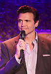 Brent Barrett performing a press preview at 54 Below on 10/24/2012 in New York City.