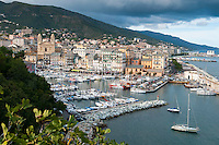 Corsica, a wildly beautiful sunny French Island in the Mediterranean.