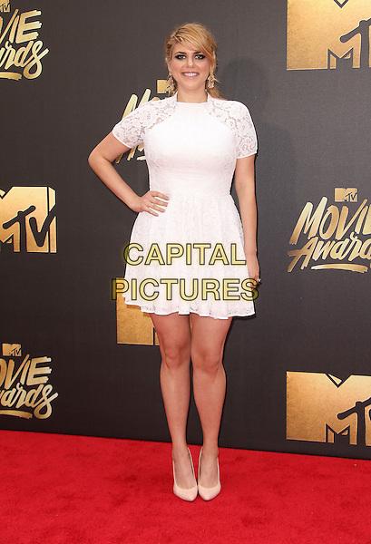 09 April 2016 - Burbank, California - Molly Tarlov. 2016 MTV Movie Awards held at Warner Bros. Studios. <br /> CAP/ADM/SAM<br /> &copy;SAM/ADM/Capital Pictures