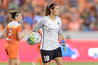 Houston, TX - Saturday Sept. 03, 2016: Lydia Williams during a regular season National Women's Soccer League (NWSL) match between the Houston Dash and the Orlando Pride at BBVA Compass Stadium.