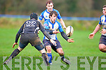 Tralee Gareth Walsh in action against Cobh's at O'Dowd park, Tralee on Sunday.