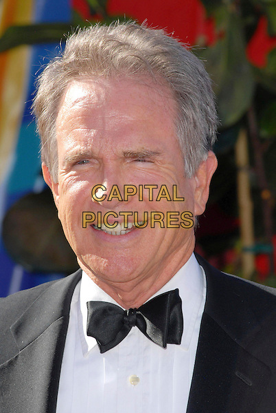 WARREN BEATTY.58th Annual Primetime Emmy Awards held at the Shrine Auditorium, Los Angeles, California, USA..August 27th, 2006.Ref: ADM/CH.headshot portrait bow tie.www.capitalpictures.com.sales@capitalpictures.com.©Charles Harris/AdMedia/Capital Pictures.