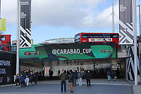 Wembley way before todays game. Aston Villa vs Manchester City, Caraboa Cup Final Football at Wembley Stadium on 1st March 2020