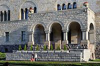Kaiserschloss von Wilhelm II (Zamek) in Posnan (Posen), Woiwodschaft Gro&szlig;polen (Wojew&oacute;dztwo wielkopolskie), Polen Europa<br /> Castle (Zamek built by Wilhelm II in Posnan, Poland, Europe