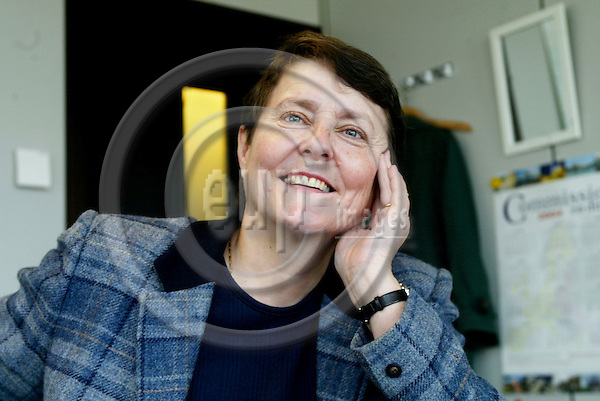 BRUSSELS - BELGIUM - 31 MARCH 2004--Elisabeth HELANDER, Director, European Commission, Regional Policy DG, Directorate B - Community initiatives and innovative schemes -- PHOTO: ERIK LUNTANG / EUP-IMAGES