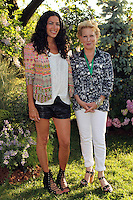 Designer Rebecca Minkoff and Bette Midler attending Bette Midler's New York Restoration Project's 11th annual Spring Picnic on The Cloisters Lawn at Fort Tryon Park in New York, 31.05.2012..Credit: Rolf Mueller/face to face /MediaPunch Inc. ***FOR USA ONLY***