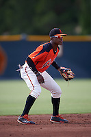 San Francisco Giants Jalen Miller (15) during an instructional league game against the Colorado Rockies on October 7, 2015 at the Giants Baseball Complex in Scottsdale, Arizona.  (Mike Janes/Four Seam Images)