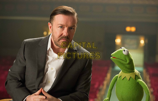 Ricky Gervais<br /> in Muppets Most Wanted (2014) <br /> *Filmstill - Editorial Use Only*<br /> CAP/NFS<br /> Image supplied by Capital Pictures
