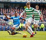 11.3.2018 Rangers v Celtic:<br /> Alfredo Morelos and jack Hendry