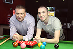 Nigel Power and John Sutton of the Snooker Club, Fair Green 28/10/10..(Photo credit should read Jenny Matthews www.newsfile.ie)....This Picture has been sent you under the condtions enclosed by:.Newsfile Ltd..The Studio,.Millmount Abbey,.Drogheda,.Co Meath..Ireland..Tel: +353(0)41-9871240.Fax: +353(0)41-9871260.GSM: +353(0)86-2500958.email: pictures@newsfile.ie.www.newsfile.ie.