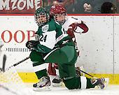 Sasha Nanji (Dartmouth - 24), Gina McDonald (Harvard - 10) - The visiting Dartmouth College Big Green defeated the Harvard University Crimson 3-2 on Wednesday, November 23, 2011, at Bright Hockey Center in Cambridge, Massachusetts.