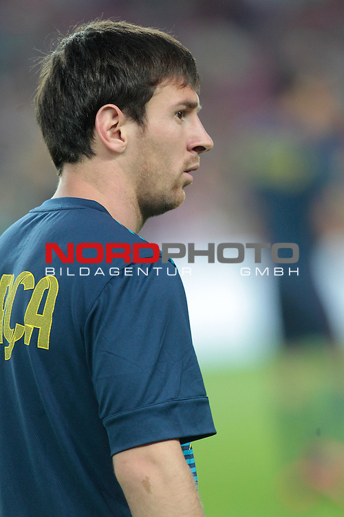 07.10.2012, Camp Nou, Spanien, Primera División, FC Barcelona vs Real Madrid im Bild  Barcelona's Lionel Messi during la Liga match on october 7th 2012.  Foto © nph / Cesar Cebola *** Local Caption ***
