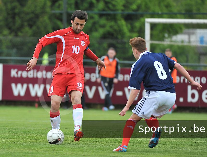 Scotland U19 - Georgia U19 : Bachana Arabuli (10).foto DAVID CATRY / Nikonpro.be