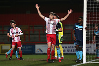 Stevenage Youth vs Middlesbrough Youth, FA Youth Cup Football at the Lamex Stadium on 11th January 2018