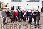 Junior Locke, Chairman of Foodshare Kerry receives the keys for their new van from Noel O'Connor of Adams Tralee and Minister Brendan Griffin TD at the NEWKD offices in Aras an Phobail, Tralee on Monday afternoon last. Back l-r, Pat Murphy, Brian McCannon, Rob Carey, Junior Locke, Pat Hussey, Owen McCarthy (Mission Leader in Bon Secour Health System) and Paddy Kevane (St Vincent de Paul).