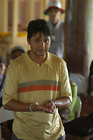 Polícia federal , ouvidoria agrária e ministério público chegam para participar das investigações.<br /> <br /> <br /> O procurador federal Felicio Pontes Jr, fala a lideranças sindicais, trabalhadores rurais e membros da igreja sobre a situação legal na região.<br /> <br /> Assassinato irmã Dorothy Stang<br /> Irmã Dorothy foi assassinada brutalmente as 7: 30 da manhã dia 12/02/2005 ao sair de uma casa no assentamento feito pelo Incra conhecido como PDS Esperança. Conforme os levantamentos preliminares a religiosa foi morta com 9 tiros<br /> <br /> Anapú, Pará, Brasil<br /> 16/02/2005<br /> Foto Paulo Santos
