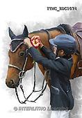 Marcello, REALISTIC ANIMALS, REALISTISCHE TIERE, ANIMALES REALISTICOS, paintings+++++,ITMCEDC1074,#A# ,horse,horsemen,rider