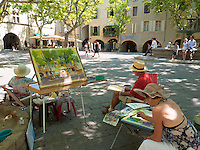 Uzes In Southern France
