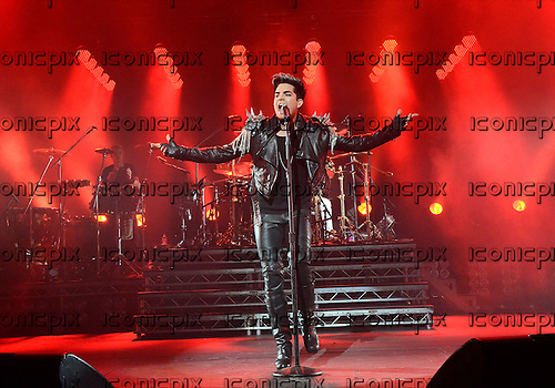 QUEEN + ADAM LAMBERT performing live at the Apollo Hammersmith London UK - 11 July 2012.  Photo credit: George Chin/IconicPix