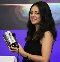 NEW YORK, NY-July 28: Mila Kunis at STX Entertainment '& Bad Moms' cast  Ring The NASDAQ Closing Bell at Time Square New York. NY July 28, 2016. Credit:RW/MediaPunch