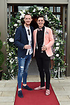 Mike Beckhill and Tadhg Fleming Kenmare  pictured at the Killarney Apres Races party in The Brehon Hotel, Killarney on Thursday night.<br /> Photo: Don MacMonagle<br /> <br /> repro free photo<br /> further info: Aoife O'Donoghue aoife.odonoghue@gleneaglehotel.com