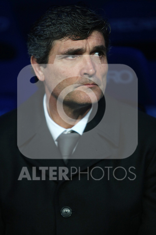 Real Madrid's coach Juande Ramos during La Liga match.January 25 2009. (ALTERPHOTOS/Acero).