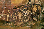 Petroglyph panel, McKee Springs, Dinosaur National Monument, Utah