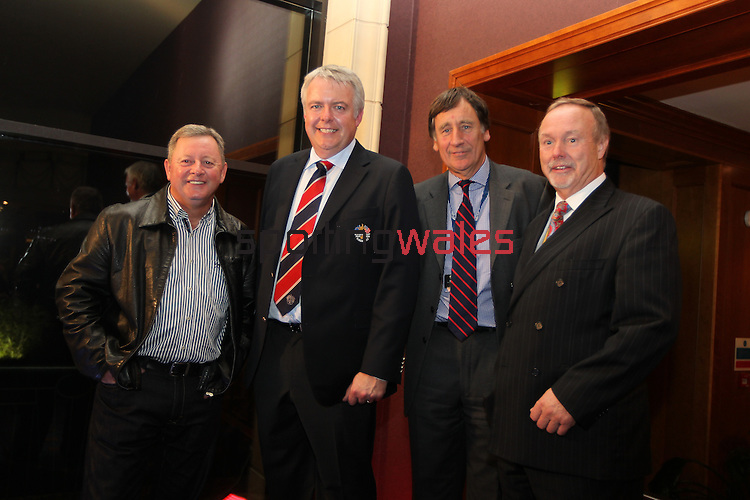 Ryder Cup 2010.Ian Woosnam, First Minister Carwyn Jones, John Hopkins and Sir Terry Matthews.29.09.10.©Steve Pope.
