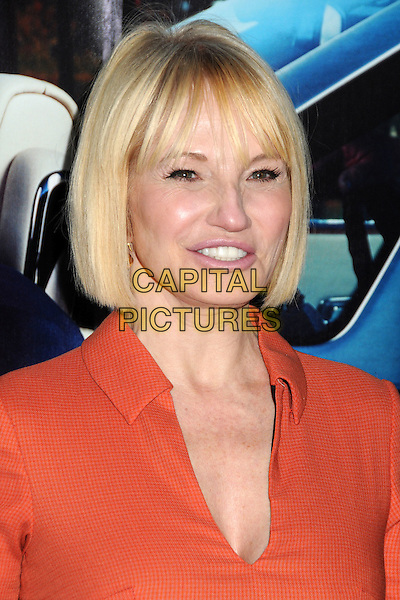 "ELLEN BARKIN .HBO's ""His Way"" Los Angeles Premiere held at Paramount Studios, Los Angeles,  California, USA, 22nd March 2011..portrait headshot red  orange collar fringe bob .CAP/ADM/BP .©Byron Purvis/AdMedia/Capital Pictues."