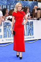 "Clara Paget<br /> at the ""Valerian"" European premiere, Cineworld Empire Leicester Square, London. <br /> <br /> <br /> ©Ash Knotek  D3290  24/07/2017"