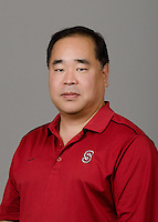 STANFORD, CA - September 27th, 2011: Stanford Volleyball Coach portrait.