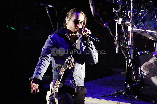 PHILADELPHIA, PA - MAY 13: Jared Leto of 30 Seconds To Mars performs at the Temple Performing Arts Center  in Philadelphia, Pa on May 13, 2013  © Star Shooter / MediaPunch Inc