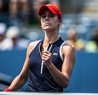 Alize Cornet<br /> Tennis - US Open  - Grand Slam -  Flushing Meadows  2013 -  New York - USA - United States of America - Saturday 31st August 2013. <br /> &copy; AMN Images, 8 Cedar Court, Somerset Road, London, SW19 5HU<br /> Tel - +44 7843383012<br /> mfrey@advantagemedianet.com<br /> www.amnimages.photoshelter.com<br /> www.advantagemedianet.com<br /> www.tennishead.net