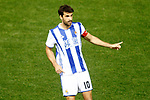 Real Sociedad's Xabi Prieto during La Liga match. April 4,2017. (ALTERPHOTOS/Acero)