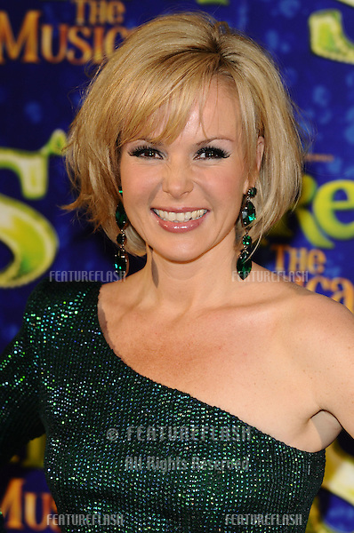 "Amanda Holden (plays Princess Fiona).arrives for the 1st night party of ""Shrek The Musical"" at Somerset House, London. 14/06/2011  Picture by: Steve Vas / Featureflash"
