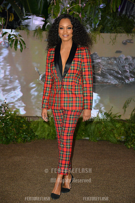 "Garcelle Beauvais at the Los Angeles premiere of ""Jumanji: Welcome To the Jungle"" at the TCL Chinese Theatre, Hollywood, USA 11 Dec. 2017<br /> Picture: Paul Smith/Featureflash/SilverHub 0208 004 5359 sales@silverhubmedia.com"