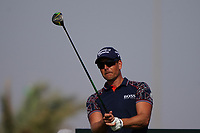 Henrik Stenson (SWE) on the 14th during Round 3 of the Saudi International at the Royal Greens Golf and Country Club, King Abdullah Economic City, Saudi Arabia. 01/02/2020<br /> Picture: Golffile | Thos Caffrey<br /> <br /> <br /> All photo usage must carry mandatory copyright credit (© Golffile | Thos Caffrey)