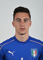 FLORENCE, ITALY - JUNE 01:  Matteo Darmian of Italy poses for a photo ahead of the UEFA Euro 2016 at Coverciano on June 1, 2016 in Florence, Italy.  Foto Claudio Villa/FIGC Press Office/Insidefoto