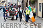 Michael Healy Rae Leading the Parade at the Blennerville Treshing Festival on Sunday.