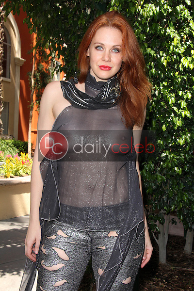 Maitland Ward<br /> tries on a daring see-thru outfit while figuring out what to wear to the annual Comic-Con &quot;Crave Escape&quot; Party later in the evening, Private Location, San Diego, CA 07-10-15<br /> David Edwards/Dailyceleb.com 818-249-4998