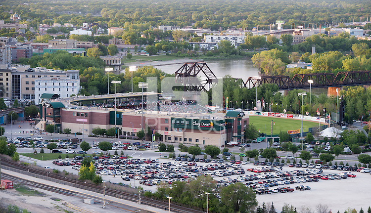 Winnipeg, Canada- June 6, 2015: Winnipeg  stands ready for the group games of the FIFA Women's World Cup.
