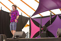 21st July 2019: Comedian Milton Jones plays the third day of the 2019 Latitude Festival 2019 at Henham Park, Suffolk.