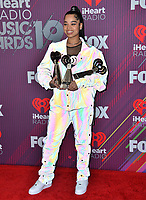 LOS ANGELES, CA. March 14, 2019: Ella Mai at the 2019 iHeartRadio Music Awards at the Microsoft Theatre.<br /> Picture: Paul Smith/Featureflash