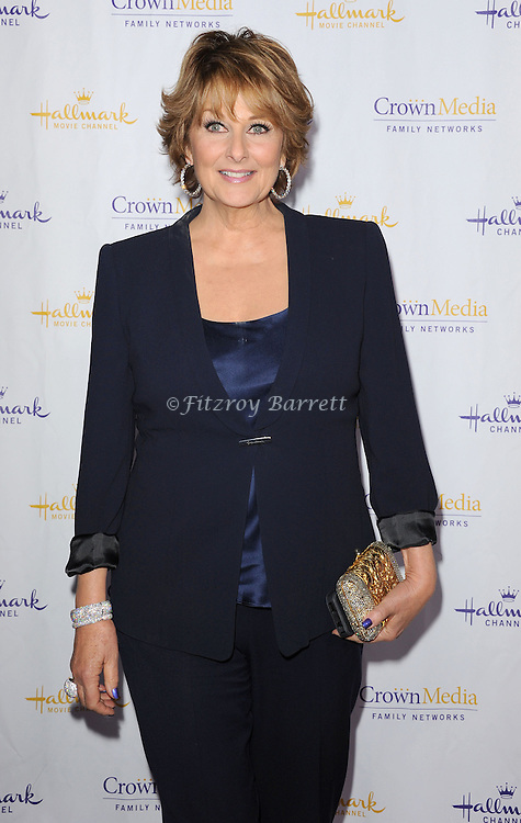 Cristina Ferrare arriving to the Hallmark Chanel and Hallmark Movie Chanel Winter TCA Gala, held at The Huntington Beach Library and Gardens in Santa Monica Mario, CA. January 4, 2013