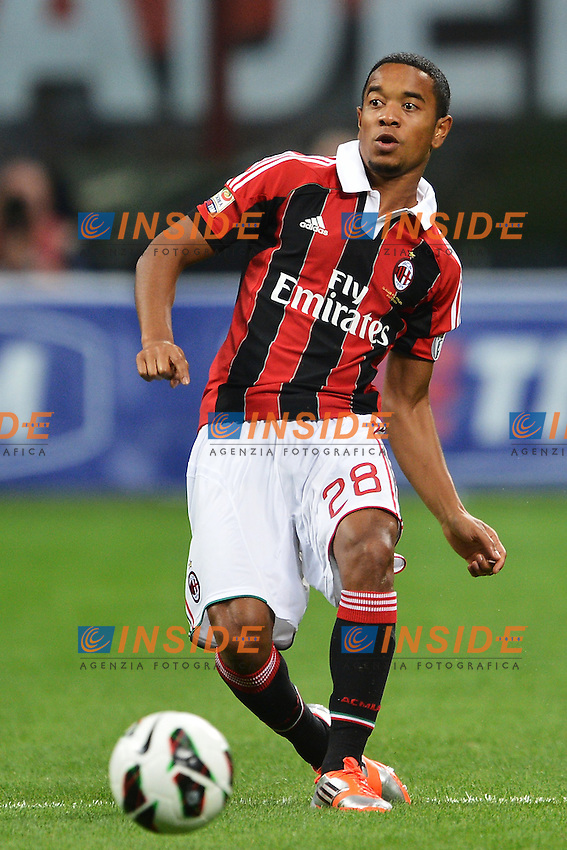 "Urby Emanuelson Milan.Milano 15/9/2012 Stadio ""Giuseppe Meazza San Siro"".Football Calcio Serie A 2012/2013.Milan Vs Atalanta.Foto Andrea Staccioli Insidefoto"