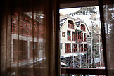 USA, Colorado, Aspen, room view at the Little Nell Hotel