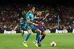 Supercopa de Espa&ntilde;a - Ida.<br /> FC Barcelona vs R. Madrid: 1-3.<br /> Jordi Alba vs Bale.