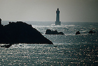 Europe/France/Bretagne/29/Finistère/Ile d'Ouessant: Le phare de NIVIDIC